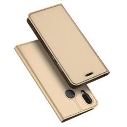 Pouzdro Dux Ducis Skin pro Samsung A715F Galaxy A71 zlaté
