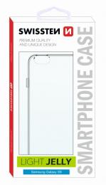 Pouzdro Swissten Light Jelly pro Samsung G955F Galaxy S8 Plus čiré