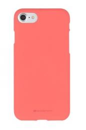Pouzdro Mercury Soft Feeling pro Apple iPhone Xs MAX růžové