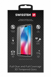 Swissten Tvrzené Sklo 3D H pro Samsung A520F Galaxy A5 2017 bílé
