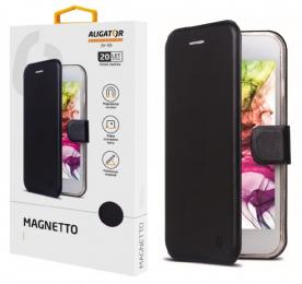 Pouzdro Aligator Magnetto pro Huawei Y6s (Honor 8A) černé