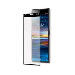 Celly Tvrzené sklo pro Sony Xperia 10 Plus černé