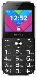 myPhone Halo C Senior Dual SIM Black