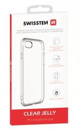 Pouzdro Swissten Clear Jelly pro Apple iPhone 5/5S/SE čiré