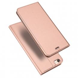 Pouzdro Dux Ducis Skin pro Apple iPhone 5/5S/SE růžové