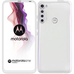 Motorola One Fusion+ Dual SIM Moonlight White