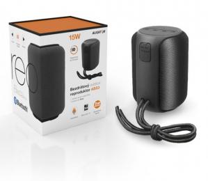 Bluetooth reproduktor Aligator ABS3 (15W výkon + MicroSD slot) černý