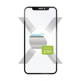 FIXED Tvrzené sklo pro Motorola Moto G7 Full Cover černé