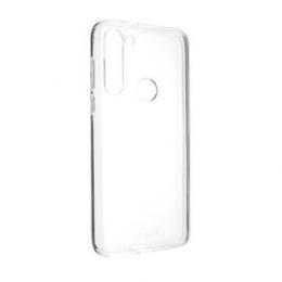Pouzdro FIXED TPU pro Motorola Moto G8 Power čiré