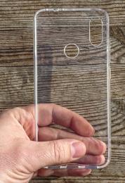 Pouzdro TPU pro Huawei P8 čiré