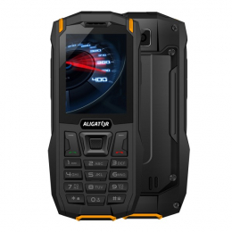 Aligator K50 eXtremo Black Orange