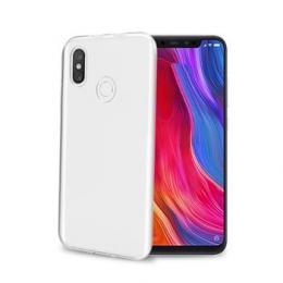 Pouzdro Celly Gelskin TPU pro Xiaomi Mi 8 čiré
