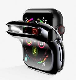 Pouzdro USAMS (BH486) pro Apple Watch Series 4/5 44mm čiré