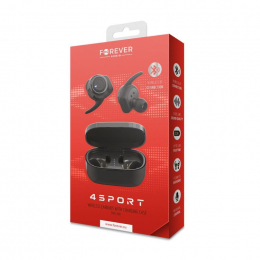 Bluetooth Sluchátka Forever (TWE-300) 4Sport černá
