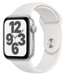 Apple Watch (MYDQ2HC/A) SE 44mm Silver White