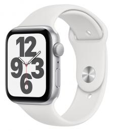 Apple Watch (MYDQ2HC/A) SE 44mm Silver White