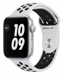 Apple Watch (MYYH2HC/A) SE 44mm Nike+ Silver White