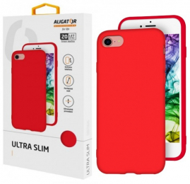 Pouzdro Aligator Ultra SLIM pro Huawei Y6 2019 červené