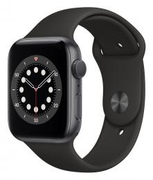 Apple Watch (M00H3HC/A) Series 6 44mm Grey Black - rozbaleno
