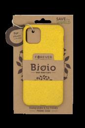 Pouzdro Forever Bioio pro Apple iPhone 11 Pro Max žluté