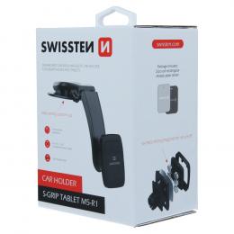 Držák na tablet Swissten S-GRIP M5-R1 na palubní desku černý