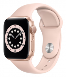 Apple Watch (MG123HC/A) Series 6 40mm Gold Pink