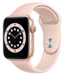Apple Watch (M00E3HC/A) Series 6 44mm Gold Pink