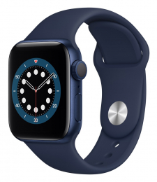 Apple Watch (MG143HC/A) Series 6 40mm Blue Deep Navy