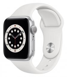 Apple Watch (M00D3HC/A) Series 6 44mm Silver White