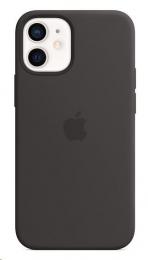 Pouzdro Apple (MHKX3ZM/A) Silicone Case (MagSafe) pro Apple iPhone 12 mini černé