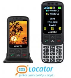 Aligator VS900 Senior Black Silver