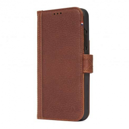 Pouzdro Decoded (D8IPO61CW4CBN) Leather Card Wallet pro Apple iPhone Xr hnědé