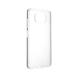 Pouzdro FIXED TPU pro Xiaomi Poco X3 čiré
