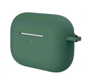 Silikonové pouzdro pro Apple Airpods Pro půlnočně zelené