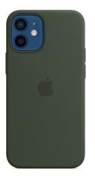 Pouzdro Apple (MHKR3ZM/A) Silicone Case (MagSafe) pro Apple iPhone 12 mini kypersky zelené