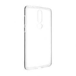 Pouzdro FIXED TPU pro Nokia 3.1 Plus čiré