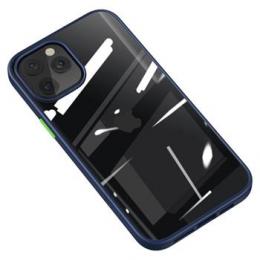 Pouzdro USAMS (US-BH627) PC/TPU kombinace Janz Series pro Apple iPhone 12/12 Pro modré
