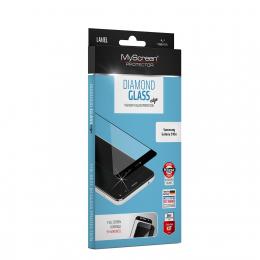 Tvrzené sklo myScreen Diamond Edge pro Samsung Galaxy S21 černé
