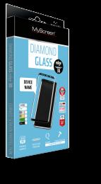 Tvrzené sklo myScreen Diamond Edge 3D pro Samsung Galaxy S21 Ultra černé
