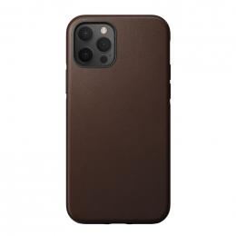 Pouzdro NOMAD (NM21gR0R00) Rugged Case pro Apple iPhone 12/12 Pro hnědé