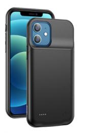 Pouzdro USAMS CD157 s powerbankou 3.500 mAh pro iPhone 12/12 Pro černé