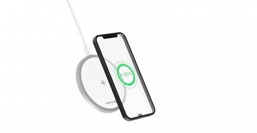 Bezdrátová nabíječka Swissten Wireless 15W bílá