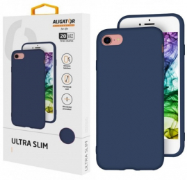 Pouzdro Aligator Ultra SLIM pro Samsung Galaxy A12 modré
