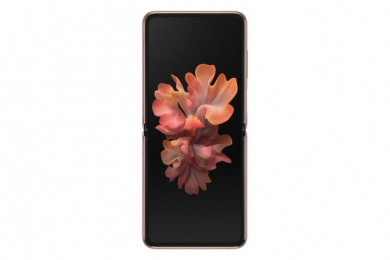 Samsung F707B Galaxy Z Flip 5G Dual SIM 256GB Mystic Bronze - rozbaleno