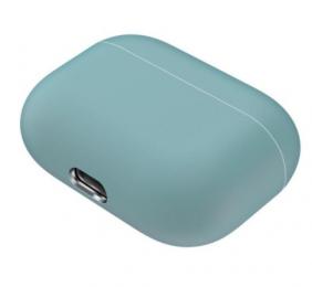 Silikonové pouzdro pro Apple Airpods Pro šedo-zelené