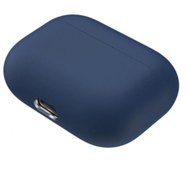 Silikonové pouzdro pro Apple Airpods Pro tmavě modré