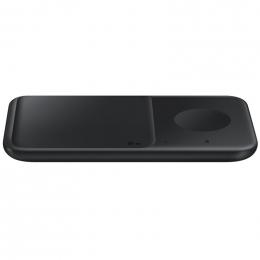 Bezdrátová nabíječka Samsung (EP-P4300BB) Duo Pad černá
