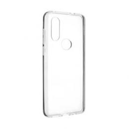 Pouzdro FIXED TPU pro Motorola One Vision čiré
