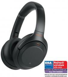 Bluetooth sluchátka Sony WH-1000XM3 černé