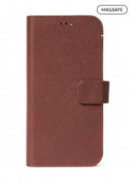Pouzdro Decoded (D21IPO54DW4CBN) Wallet pro Apple iPhone 12 Mini hnědé